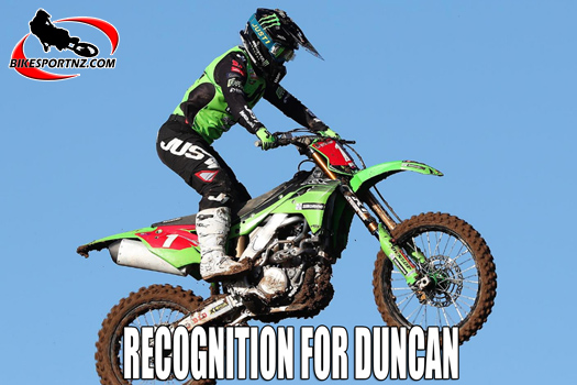 Recognition for Courtney Duncan