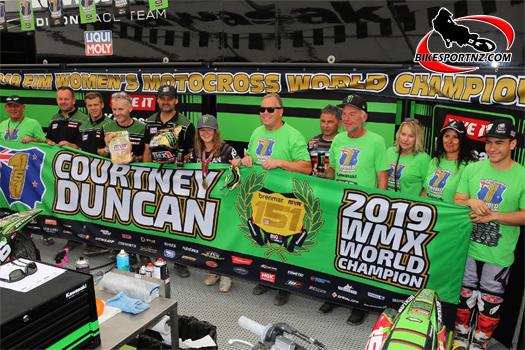 Courtney Duncan and Steve Dixon a winning team