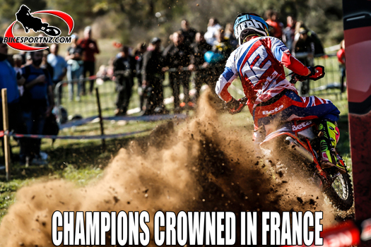Enduro World Champs wrap up in France