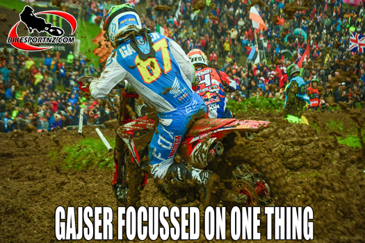 Tim Gajser has his sights set on just one thing