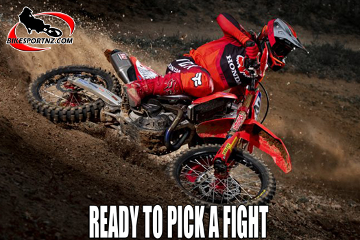 Tim Gajser determined to reclaim red number board