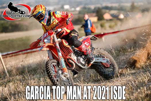 Josep Garcia top man at 2021 ISDE in Italy