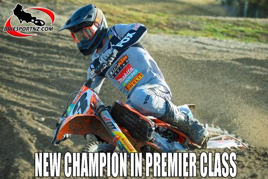 New NZ champion in the premier MX1 class
