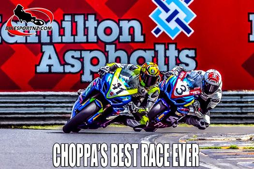 """Best Race Ever"" feature item on the BikesportNZ.com web site."