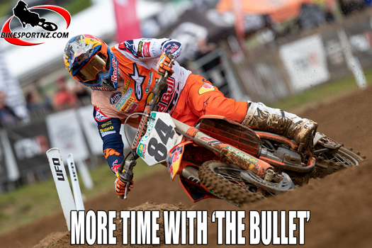"""In this episode of """"Behind The Bullet"""", Herlings reflects on his crash"""