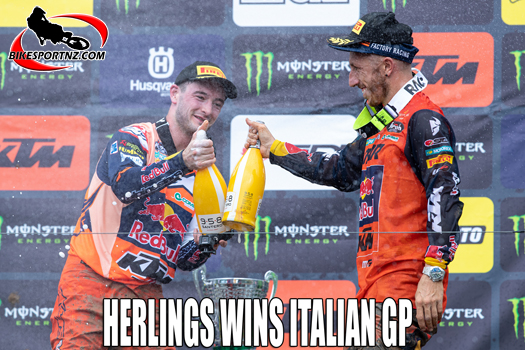 Jeffery Herlings wins Italian GP at Maggiora