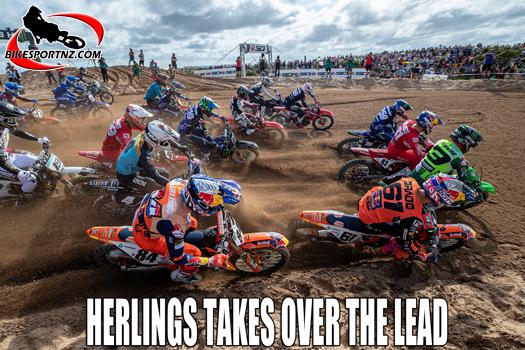 Jeffery Herlings takes over MXGP class lead