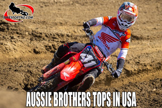 Australian brothers the stand-outs in US motocross champs