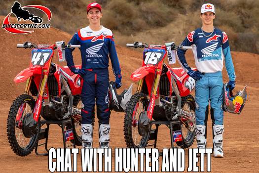 Aussie brothers Hunter and Jett Lawrence talk racing
