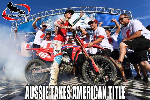 Australian teenager takes American 250cc title