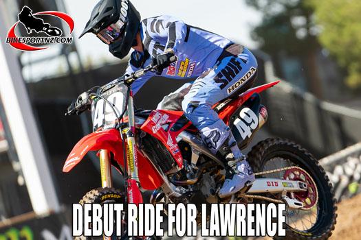 Jett Lawrence making his pro supercross debut