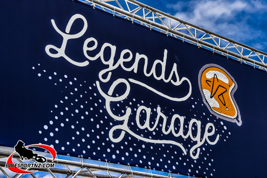 Legends Garage overflowing with motorcycling greatness