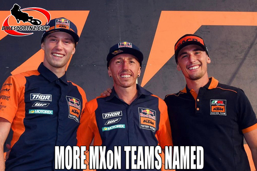 Team Italy and Team Great Britain named for MXoN