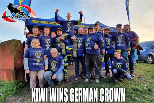 NZ rider Hamish Macdonald wins German title
