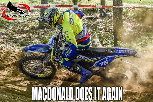 Hamish Macdonald wins world title again in 2020