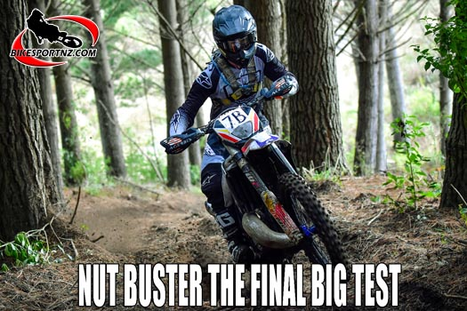 Nut Buster extreme enduro the final test