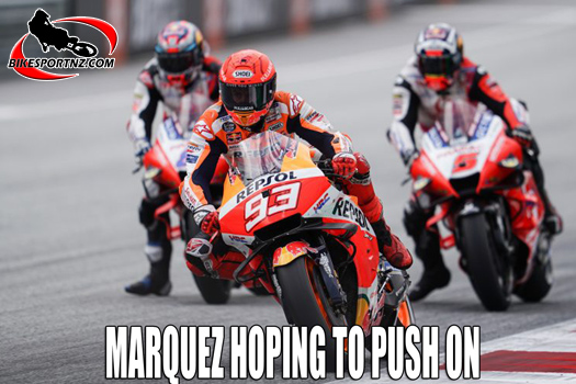 Marquez hoping to push on again after Austria