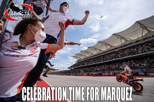 Marc Marquez top dog again in MotoGP