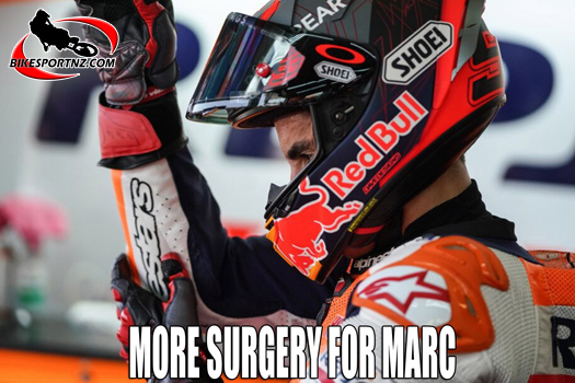 Marc Marquez under the knife again