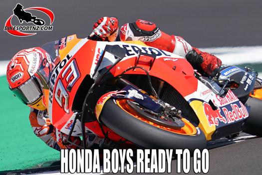 Honda brothers ready for Spanish GP