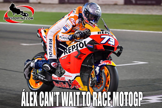 The first interview with Álex Márquez as new Repsol Honda Team rider