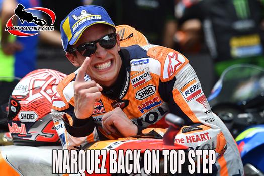 Marc Marquez wins German GP at Sachenring