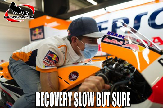 Marc Marquez showing good signs for recovery