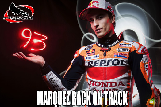 Marc Marquez back on track