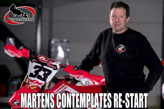 Martens contemplates re-start to MXGP season