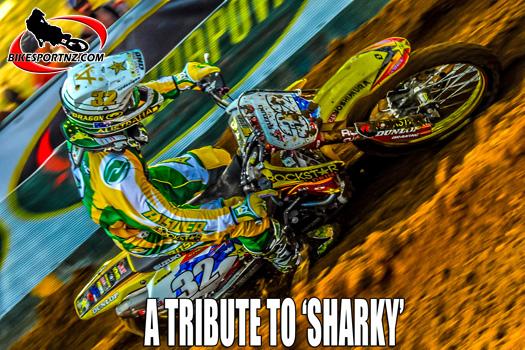 Tribute to Andrew 'Sharky' McFarlane