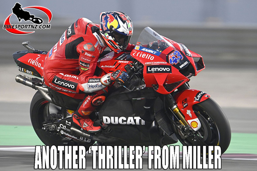 Jack Miller wins back-to-back MotoGP races