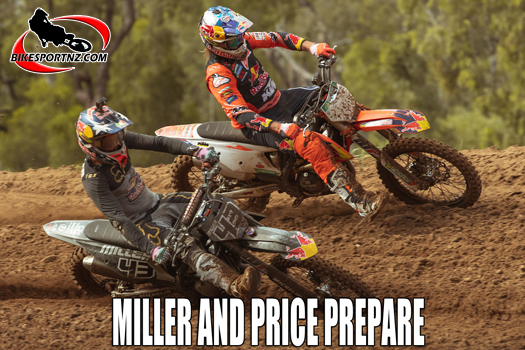 Miller and Price use MX to prepare for racing