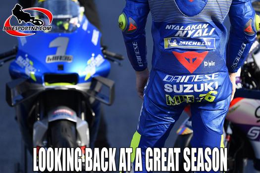 Spain's just-crowned MotoGP world champion Joan Mir, looks back this week on his fantastic season with Suzuki.