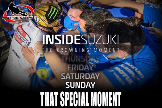 See Joan Mir's crowning moment in MotoGP