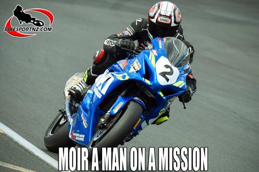 Suzuki man Scott Moir a man on a mission