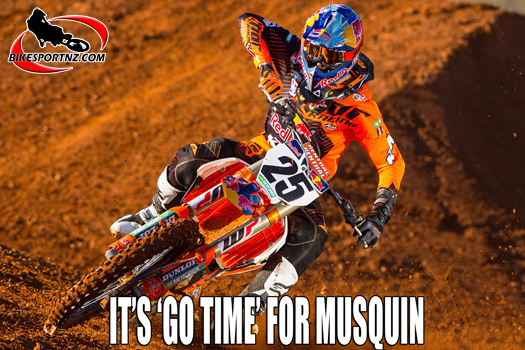 Counting down to the start of AMA Supercross and motocross