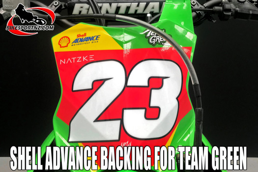 Shell Advance backing for Team Green in New Zealand