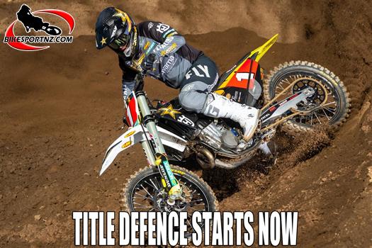 Zach Osborne's title defence starts this weekend