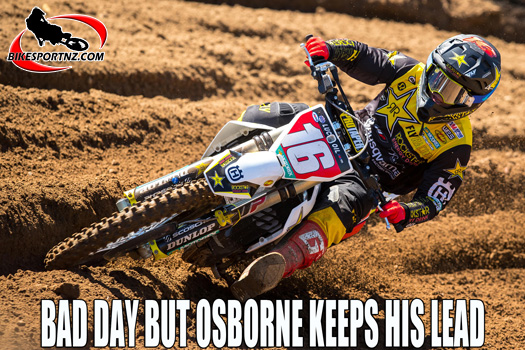 A bad day at the office for Zach Osborne