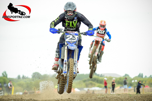 Brodie Connolly has one hand already on the MX trophy
