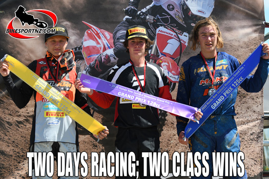 Brodie Connolly unbeatable at Woodville MX