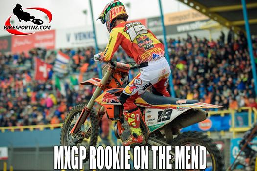 MXGP rookie Jorge Prado on the mend