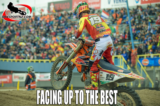Spain's Jorge Prado, battling with the sport's elite