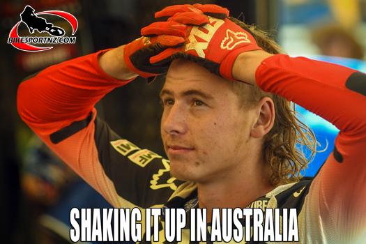 Maximus Purvis scoring valuable points in Australia