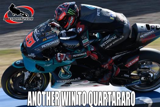 Back-to-back wins for Fabio Quartararo