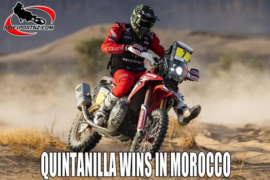 Quintanilla top dog in Morocco
