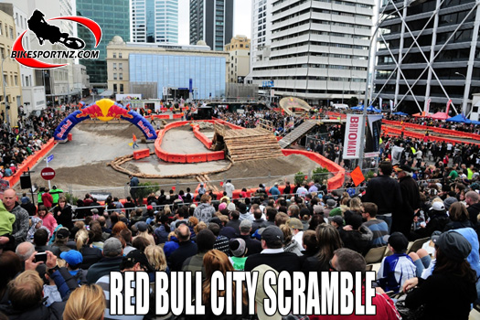 Red Bull City Scramble in downtown Auckland