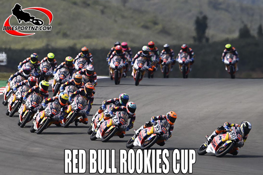 Red Bull Rookies Cup round one