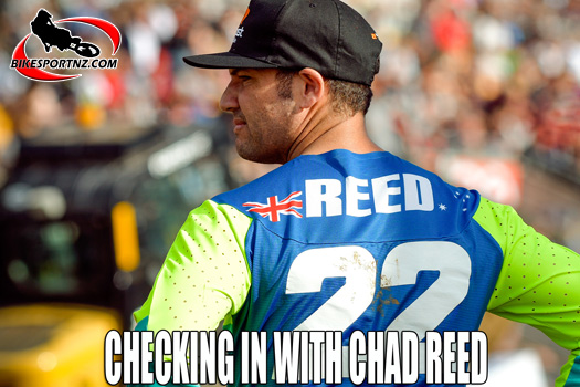 Chad Reed talks about his racing career