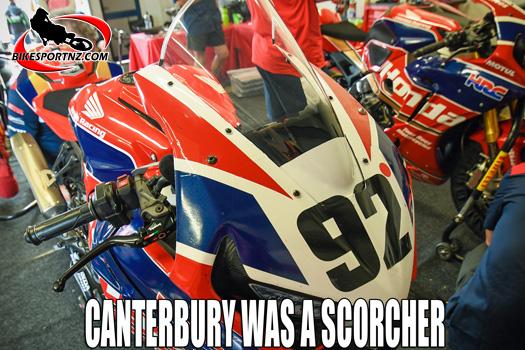 Canterbury hosted NZSBK opening round